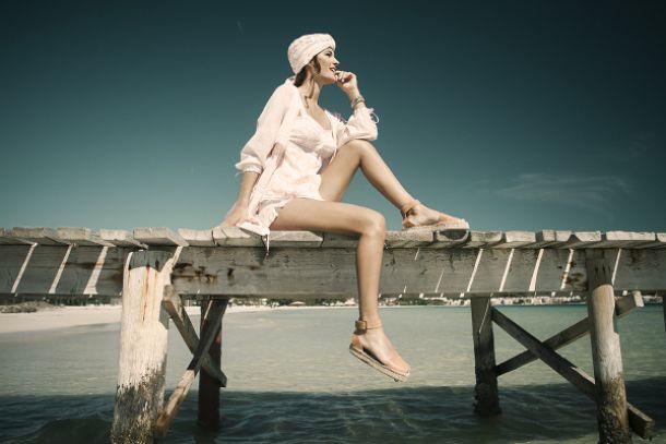 Malena Costa, en contra del cáncer de mama