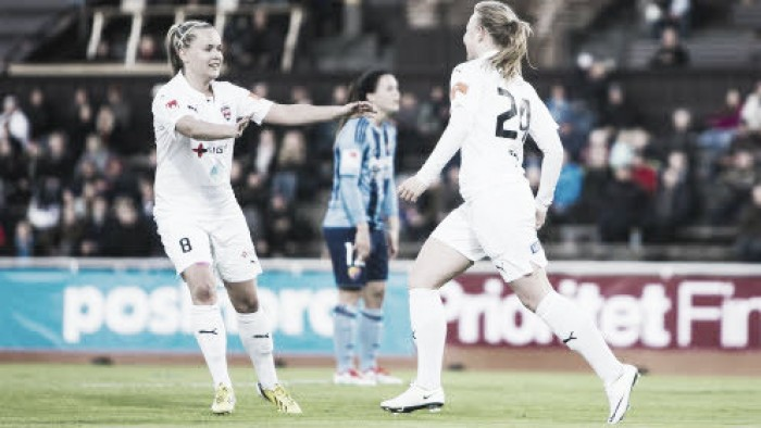 FC Rosengård v Djurgårdens IF: Damallsvenskan Leaders Look To Move Three Points Clear