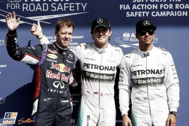 Nico Rosberg se lleva la pole en Spa bajo la lluvia