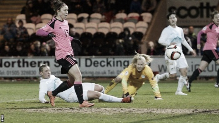 Scotland 3-1 Slovenia: Jane Ross at the double as Scots continue perfect start to qualification