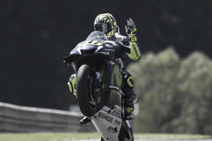 """Valentino Rossi: """"Quería intentar llegar al podio"""""""