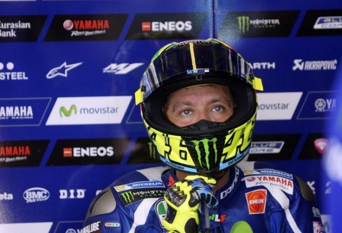 """MotoGP, Rossi scontento: """"Staccata da migliorare"""""""