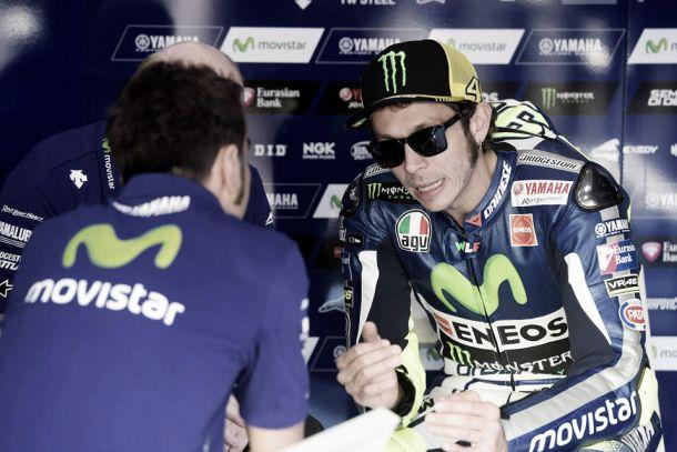 """Valentino Rossi: """"Me molestó un poco el tráfico, podría haber mejorado"""""""