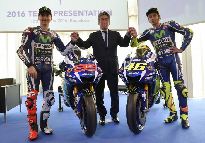 MotoGP, ecco la Yamaha M1 2016