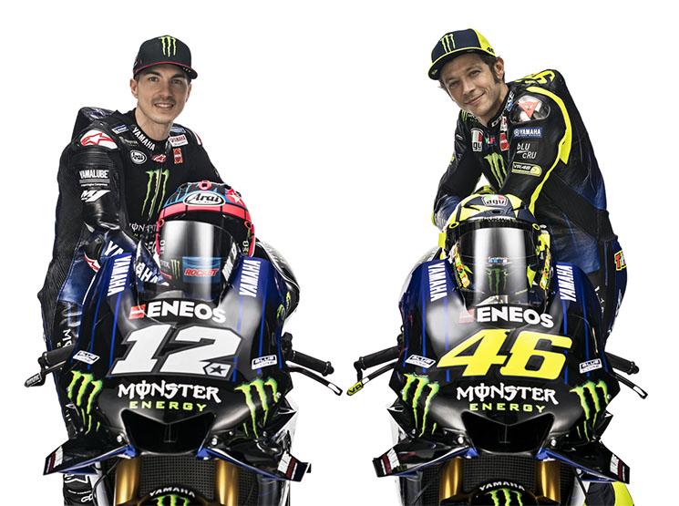 Valentino Rossi y Maverick Viñales llegan a Silverstone en quinta y sexta posición, a sólo un punto de distancia