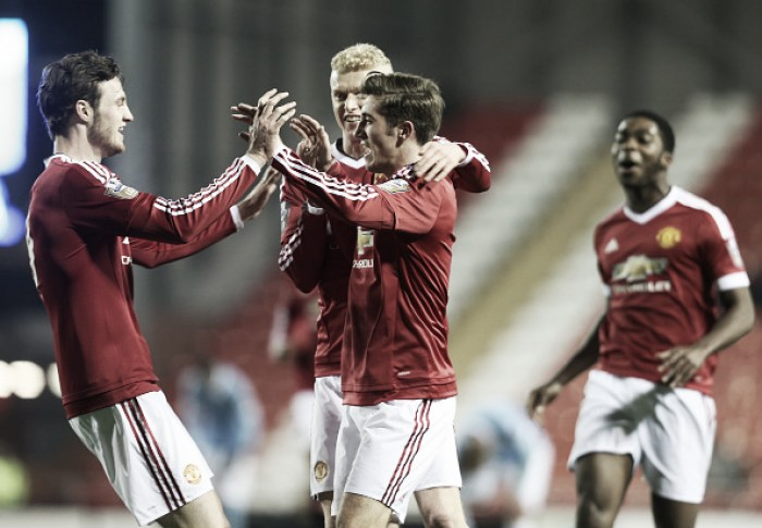 Manchester United under-21 1-0 Manchester City under-21: Rothwell strikes as Reds move top