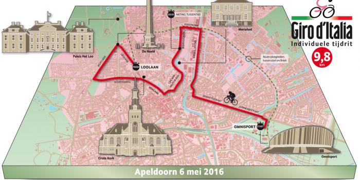 Giro d'Italia 2016, la cronometro di Apeldoorn assegna la prima maglia rosa