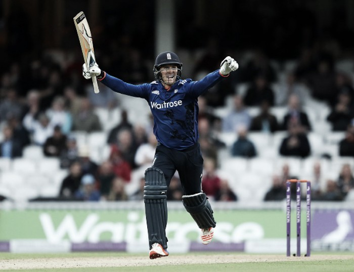 England vs Sri Lanka 4th ODI: Roy smashes 162 as England confirm series victory with six-wicket win