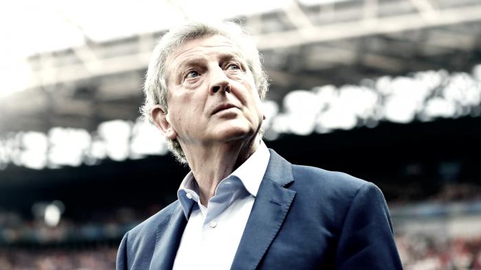 """Roy Hodgson: """"Se nos ha complicado el partido"""""""
