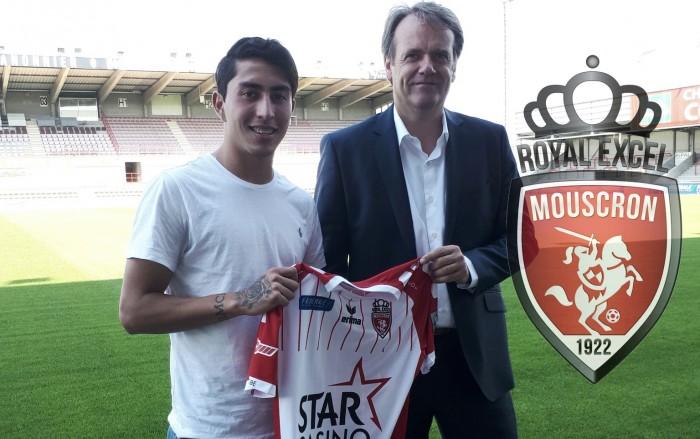 Omar Govea firma con el Royal Excel Mouscron de Bélgica