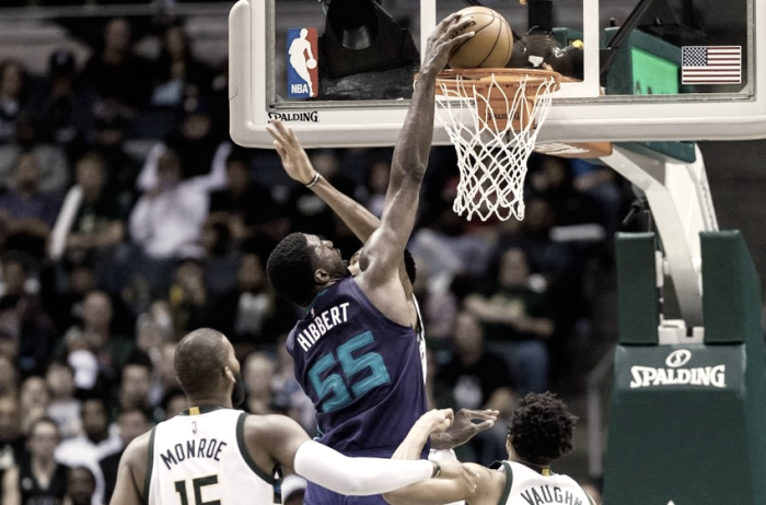 Charlotte Hornets trade Roy Hibbert, Spencer Hawes to Milwaukee Bucks in exchange for Miles Plumlee
