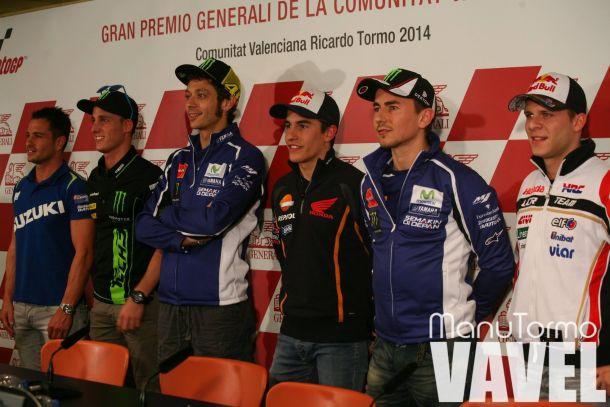 Rueda de prensa previa del Gran Premio de Valencia