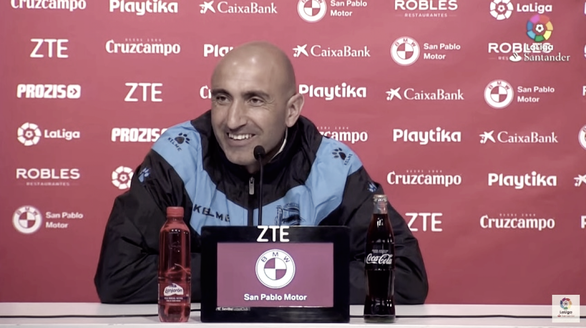"""Abelardo: """"He disfrutado muchísimo, gracias a la calidad humana de mis jugadores"""""""