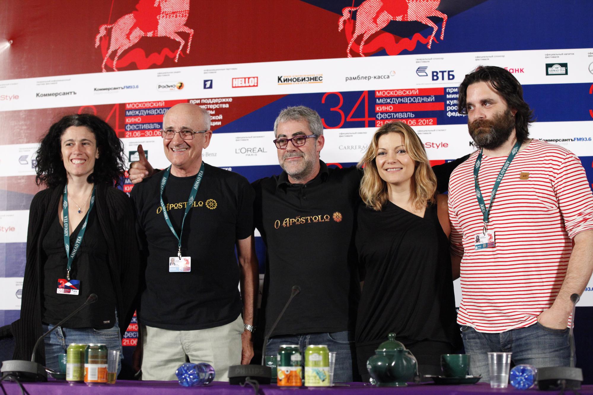 La película de animación O Apóstolo representa a España en el  XXXIV Festival Internacional de Cine de Moscú
