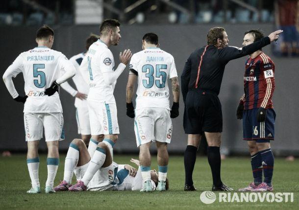 Résumé 12ème Journée Russian PL: Le Zenit assomme ses concurrents
