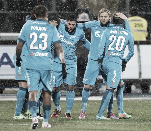 Résumé 17ème Journée Russian PL: Zenit Champion d'hiver