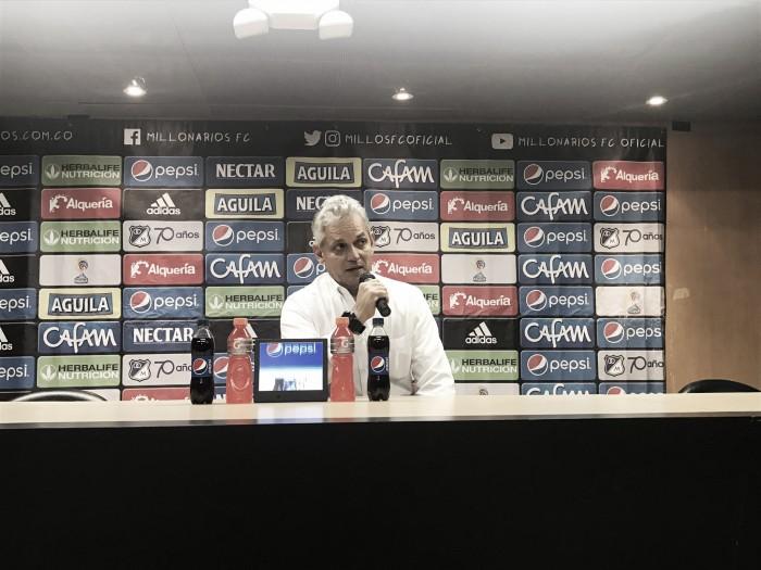 """Reinaldo Rueda: """"Los jugadores supieron responder"""""""