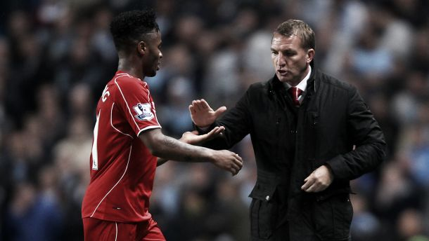 "Brendan Rodgers: ""Sterling is not unhappy and will be available for Stoke City"""