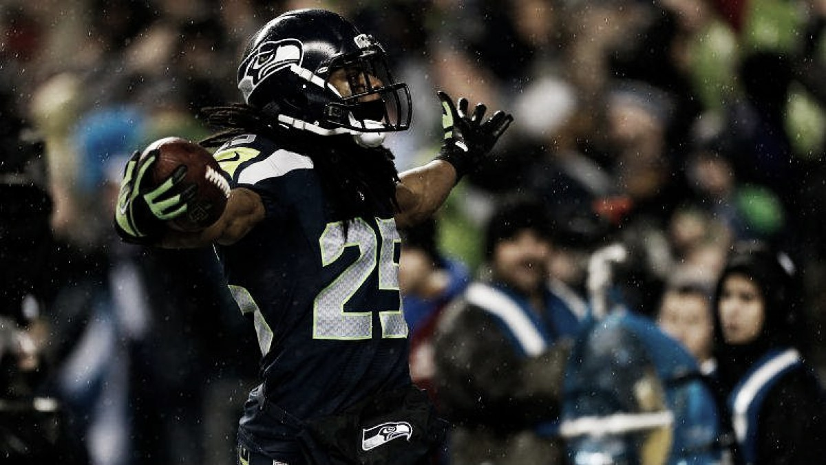 Richard Sherman takes No. 25, dishes on Kaepernick, eats meatloaf