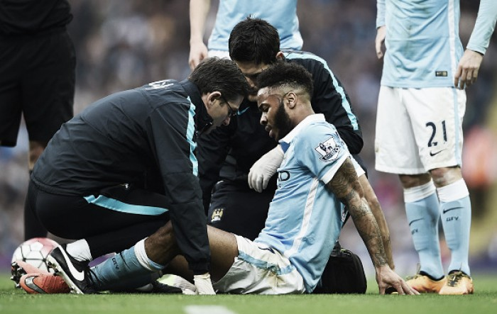 Raheem Sterling out for 6-8 weeks with groin injury