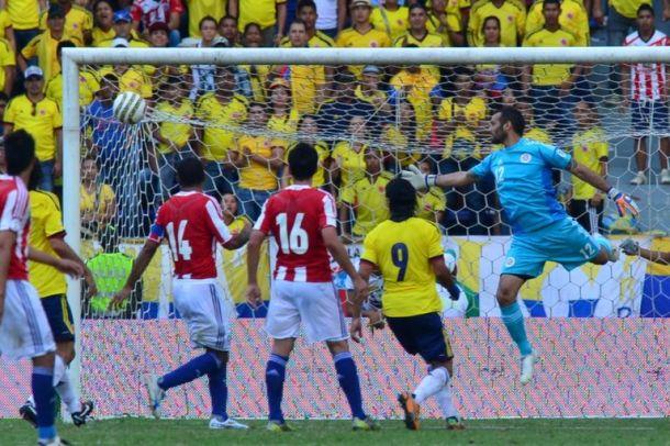 Resultado Paraguay Vs Colombia por las eliminatorias a Brasil 2014 (1-2)