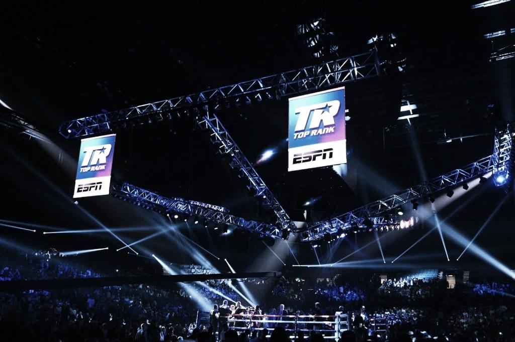 ¡Vuelve el boxeo! Top Rank regresa este mes a puertas cerradas