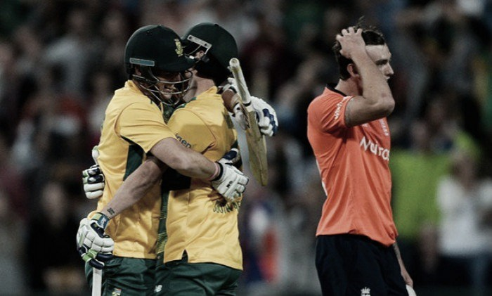 South Africa - England 1st T20: Proteas win final ball thriller