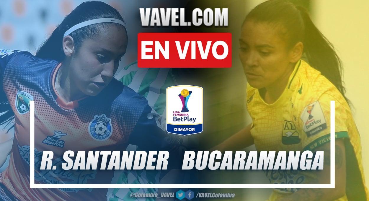 Resumen Real Santander vs Atlético Bucaramanga (3-1) por Liga BetPlay Femenina