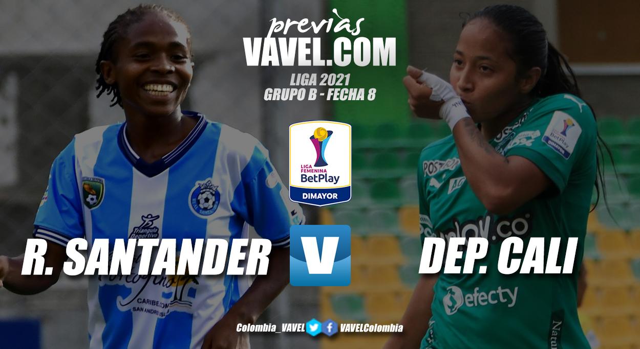 Previa Real Santander vs Deportivo Cali: comienza a definirse el grupo B de la Liga Femenina