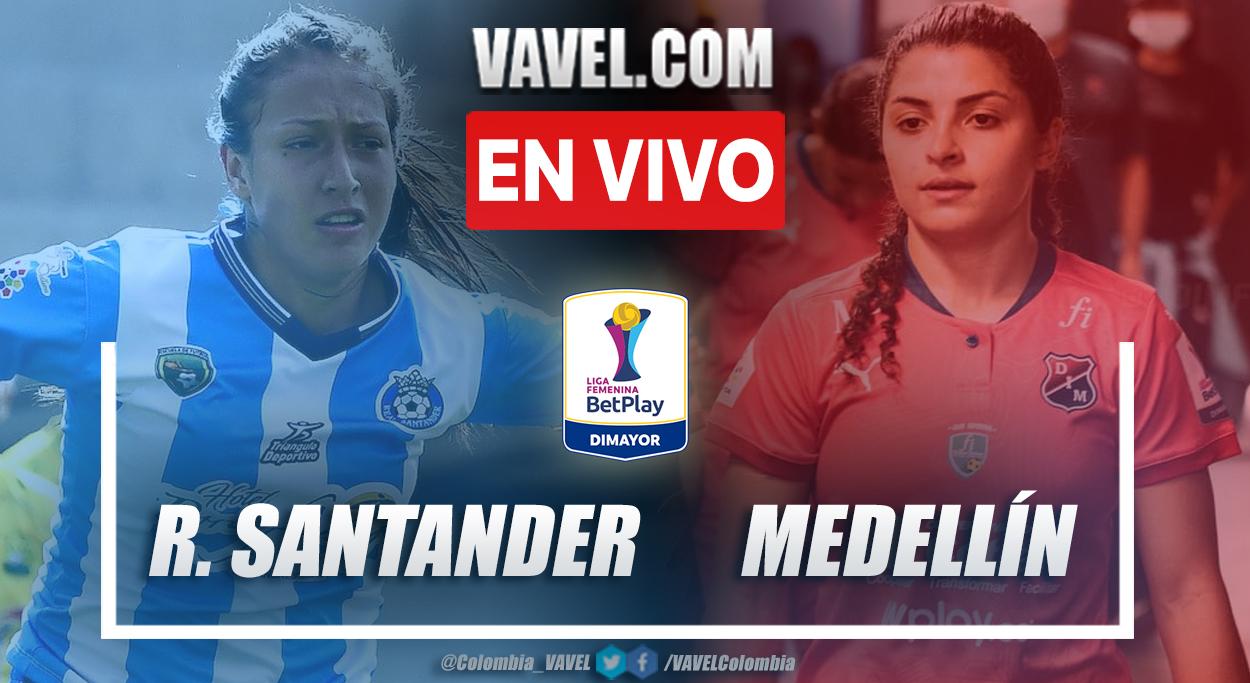 Resumen Real Santander 0-2 Medellín en la fecha 4 del grupo B por Liga Femenina 2021