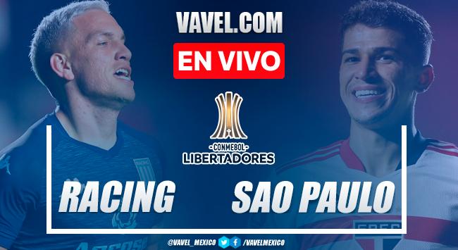 Resumen y goles: Racing 1-3 Sao Paulo en Octavos de Final de la Copa Libertadores 2021