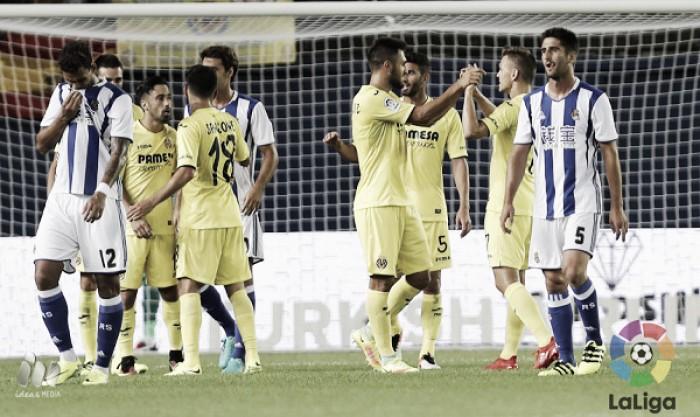 La Real peca de falta de gol en El Madrigal