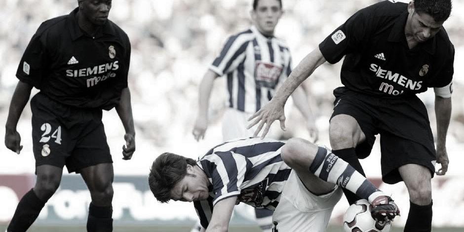 Real Sociedad - Real Madrid, temporada 2002/03: la galaxia blanca sucumbe en Anoeta