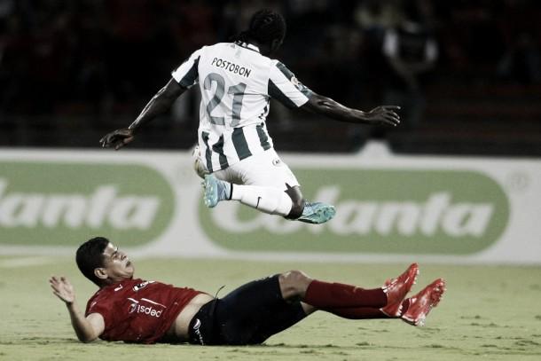 DIM - Atlético Nacional: puntuaciones 'Verdolagas', ida semifinales Liga Águila 2015-II