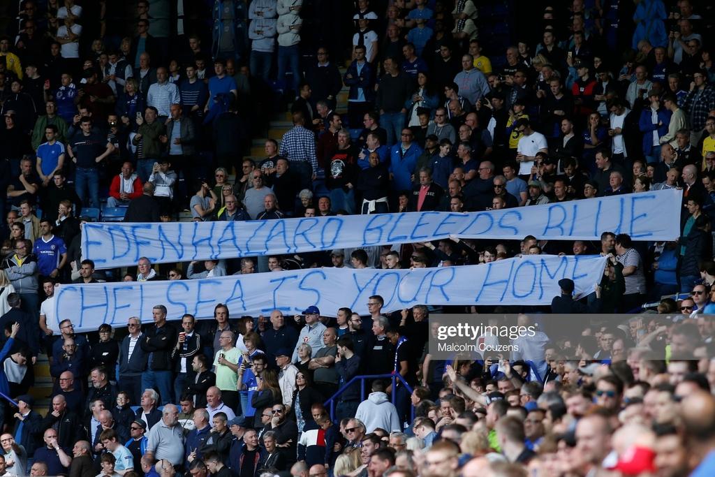 Eden Hazard has his say on Chelsea fans
