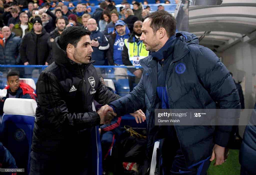 Talking Tactics: Lampard vs Arteta