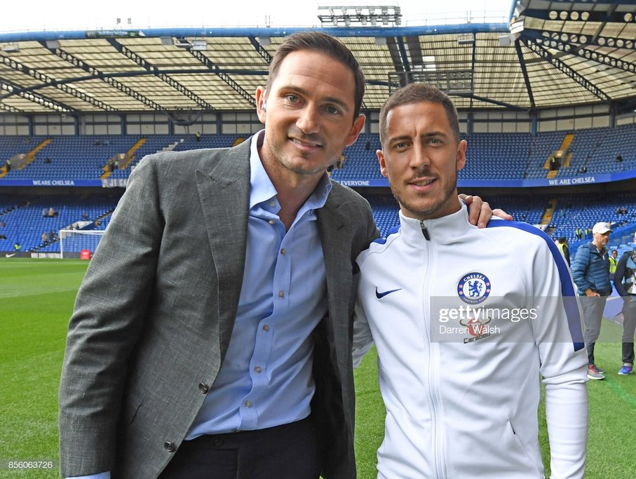 Frank Lampard: Eden Hazard is irreplaceable