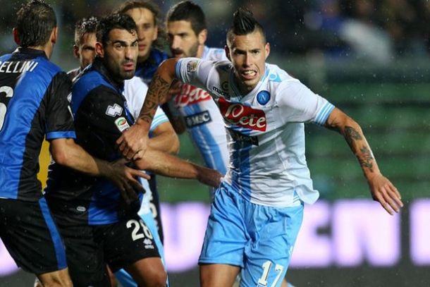 Il Napoli debutta in Coppa Italia contro l'Atalanta