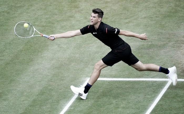 Thiem vence Federer e vai à final do ATP de Stuttgart