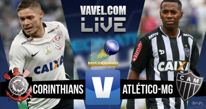 Resultado Corinthians x Atlético-MG no Campeonato Brasileiro 2016 (0-0)