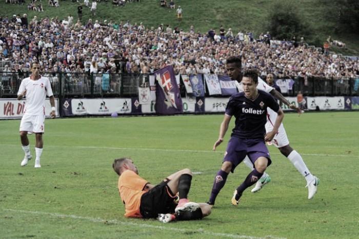 Fiorentina, alti e bassi contro il Bari: 1-1 finale con Baez