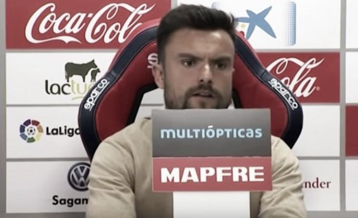 """Rubén Albés: """"No estamos teniendo suerte en decisiones puntuales"""""""