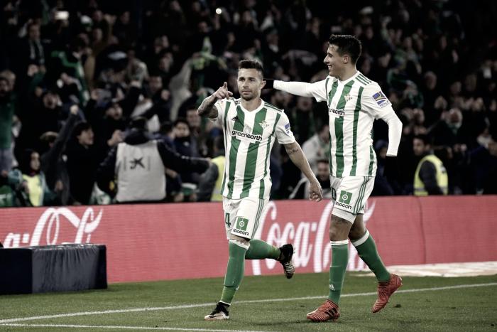 El Real Betis sigue en racha