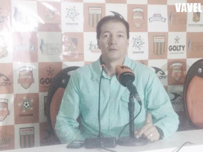 """Rubén Darío Bedoya: """"Estamos muy contentos por el resultado que conseguimos hoy"""""""