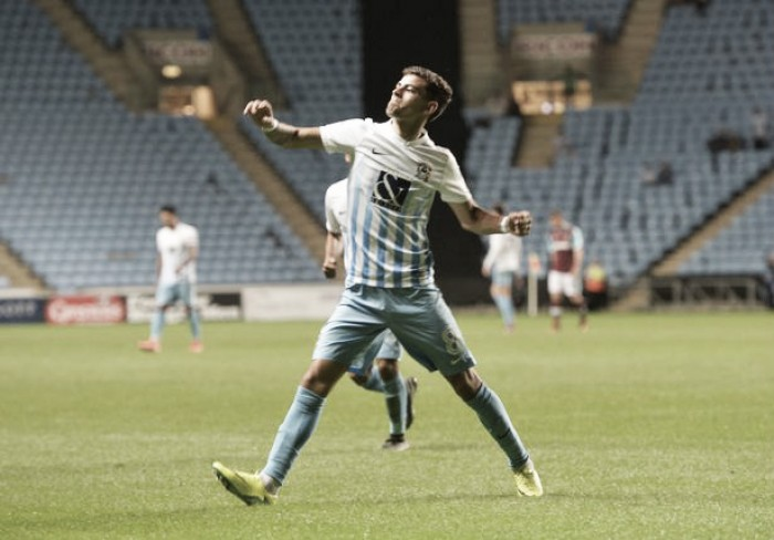 Coventry 4-2 West Ham United: Young Hammers well beaten in Checkatrade trophy