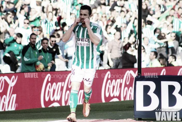 """Rubén Castro: """"Nos hacía falta la victoria, sobre todo para toda esta afición"""""""