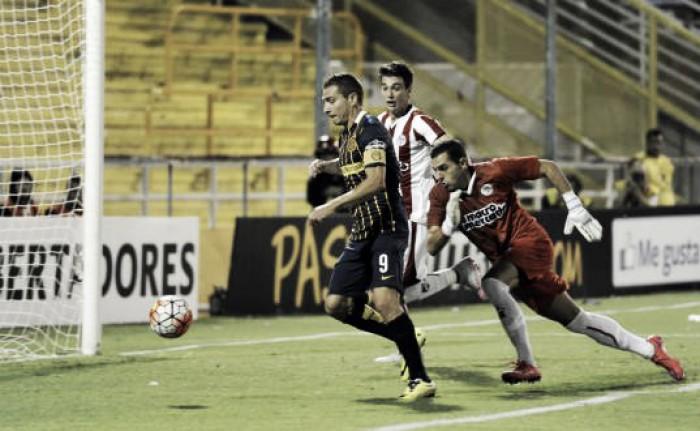 Rosario Central 4 - 1 River de Uruguay: el score Canalla