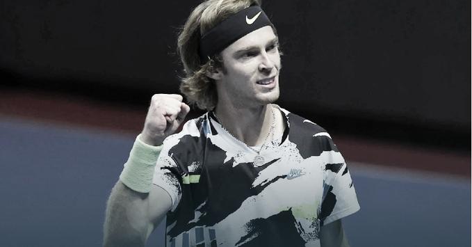 Rublev vence el ATP 500 de San Petersburgo (Fuente: Twitter @ATPTour_ES)