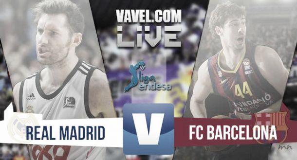 Resultado Real Madrid - Barcelona en partido 2 de Final ACB 2015 (100-80)