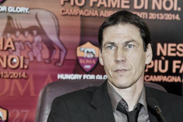 """Roma, Garcia: ''Basta errori, non c'è più tempo da perdere"""""""